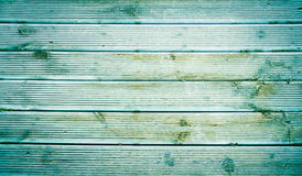 Fond en bois vert de texture Photo libre de droits