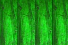 Fond en bois vert, mur vide Image libre de droits