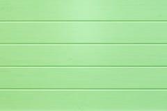 Fond en bois vert vide de planches Photos libres de droits