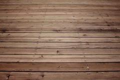 Fond en bois vide de plancher image libre de droits