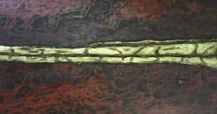 Fond en bronze ou de cuivre de texture en métal photos libres de droits