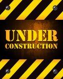 Fond en construction Photos libres de droits