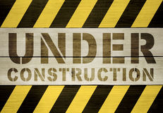 Fond en construction Images stock