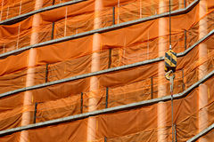 Fond en construction de construction Photographie stock libre de droits