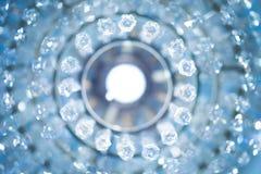 Fond en cristal circulaire photographie stock libre de droits