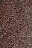 Fond en cuir de Brown image stock