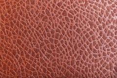 Fond en cuir de brun de texture photo stock
