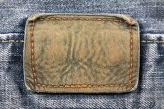 Fond en cuir de correction Images stock