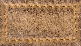 Fond en cuir de texture avec piquer photo stock