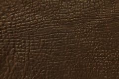Fond en cuir foncé photographie stock libre de droits