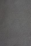 Fond en cuir gris Photo libre de droits