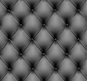 Fond en cuir gris. Vecteur Image libre de droits