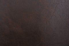 Fond en cuir noir Photographie stock libre de droits
