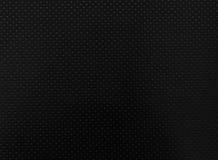 Fond en cuir noir de texture Photos stock