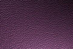 Fond en cuir pourpre de texture pour la conception Photographie stock libre de droits