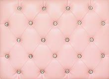 Fond en cuir rose de cru Image stock