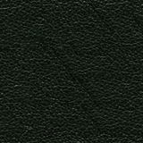 Fond en cuir vert saturé Texture en cuir vert-foncé d'Elegent photographie stock