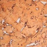Fond en gros plan et texture de la surface en bois de panneau de liège photographie stock libre de droits
