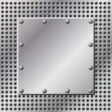 Fond en métal illustration libre de droits