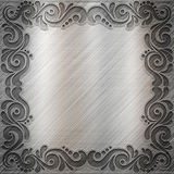 Fond en métal Image libre de droits