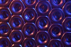 Fond en métal Photo libre de droits