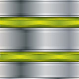 Fond en métal de vecteur Photographie stock libre de droits