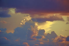 Fond en pastel de ciel Images libres de droits