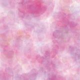 Fond en pastel de coeurs de rétro vecteur rose Image libre de droits
