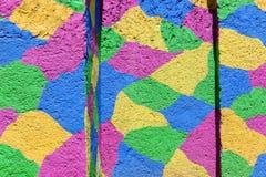 Fond en pastel de couleurs de peintures de mur Images stock