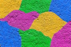 Fond en pastel de couleurs de peintures de mur Photos libres de droits