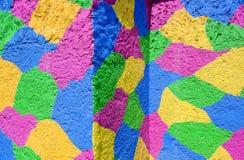Fond en pastel de couleurs de peintures de mur Photos stock