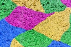 Fond en pastel de couleurs de peintures de mur Image stock