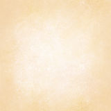 Fond en pastel de jaune d'or avec la conception centrale texturisée blanche, disposition beige doucement pâle de fond, vieille ou Images libres de droits