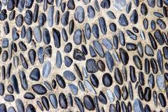 Fond en pierre de galet Image libre de droits