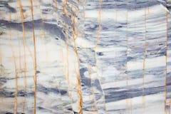 Fond en pierre de marbre bleu et blanc de texture d'onyx Photographie stock