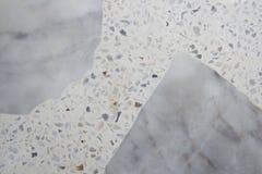Fond en pierre de marbre clair gris de texture Image libre de droits