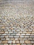 Fond en pierre de pavé Images libres de droits