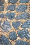 Fond en pierre de plancher Photographie stock libre de droits