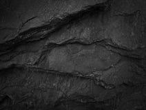 Fond en pierre foncé d'ardoise Photo libre de droits