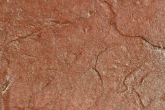 Fond en pierre rougeâtre image libre de droits