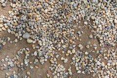 Fond en pierre - texture et sable Images stock