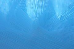Fond en plastique bleu Image libre de droits