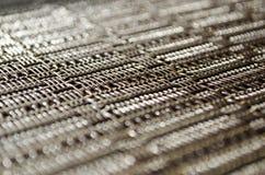 Fond en plastique de tapis Photographie stock libre de droits