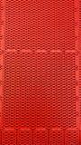 Fond en plastique rouge Photographie stock libre de droits