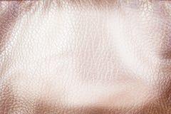 Fond en similicuir sans couture de modèles de vue supérieure, résumé brun clair photographie stock