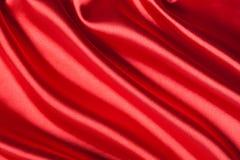 Fond en soie rouge photo stock