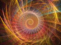 Fond en spirale Image libre de droits