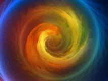 Fond en spirale Images libres de droits