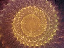 Fond en spirale Photos libres de droits
