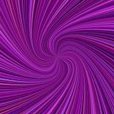 Fond en spirale abstrait de rayon - dirigez l'illustration des rayons de tourbillonnement dans des tons de couleur illustration stock